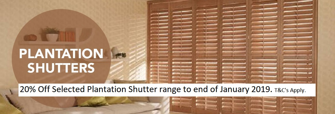 Special Offer on Shutters